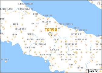 map of Tansa