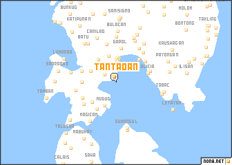map of Tantaoan
