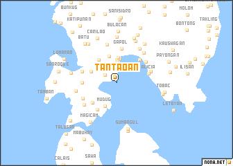 map of Tantaoan
