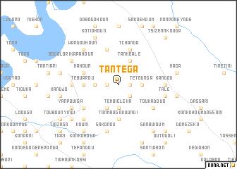 map of Tantéga