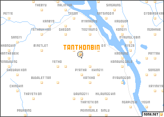 map of Tanthonbin