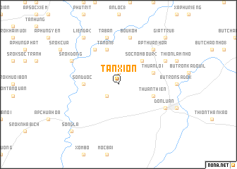 map of Tan Xion