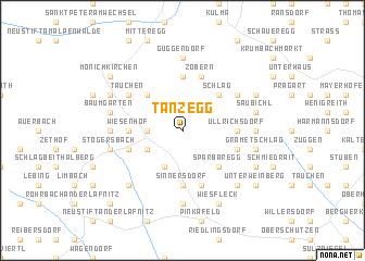 map of Tanzegg