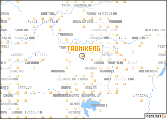 map of T\