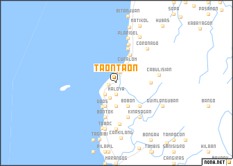 map of Taontaon