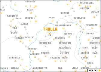 map of Taoula