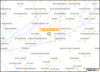 map of Taourarht