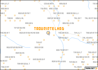 map of Taourirt el Had