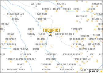 map of Taourirt