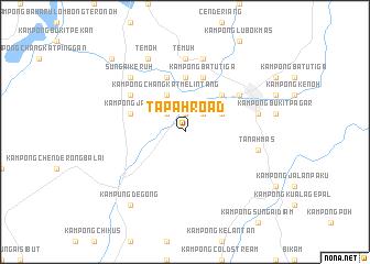 map of Tapah Road