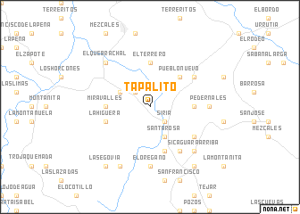 map of Tapalito