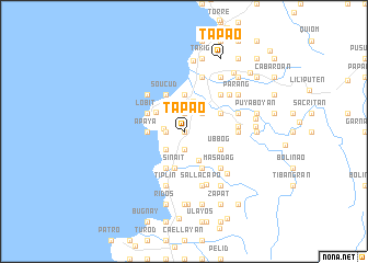map of Tapao