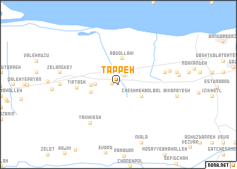 map of Tappeh