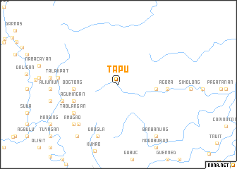 map of Tapu