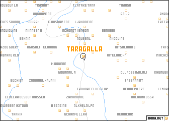 map of Taragalla