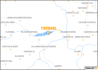 map of Tarahal