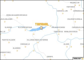 map of Tarahal
