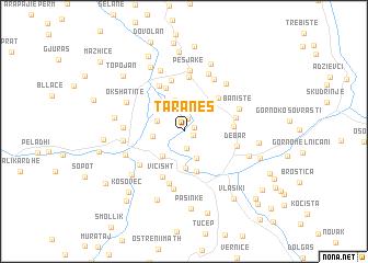 map of Taraneš