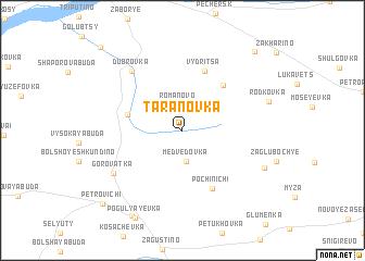 map of Taranovka