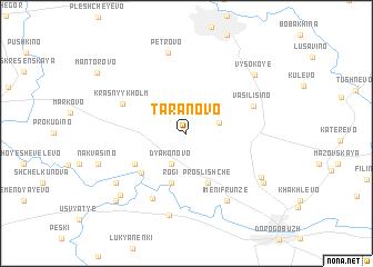 map of Taranovo
