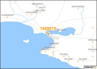 Taranto Italy map nonanet