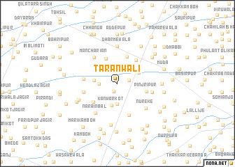 map of Tārānwāli