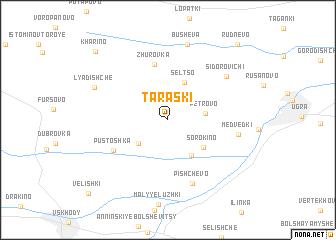 map of Taraski