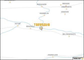 map of Tarasova