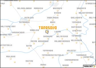 map of Tarasovo