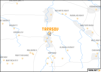 map of Tarasov