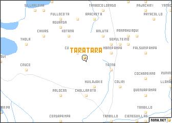 map of Taratara