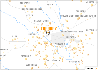 map of Tara Way