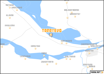 map of Tarayevo