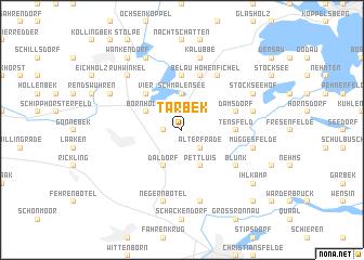 map of Tarbek