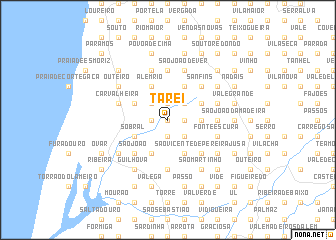 map of Tarei