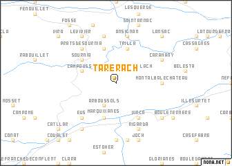 map of Tarerach