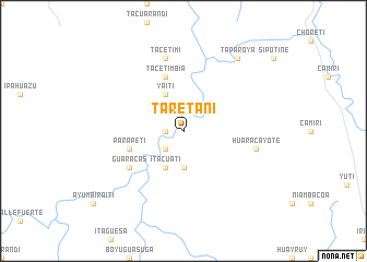 map of Taretani