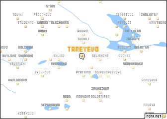 map of Tareyevo