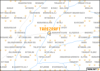 map of Tarezraft