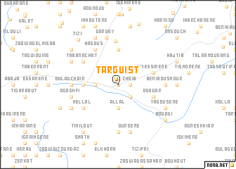map of Targuist