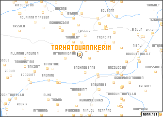 map of Tarhat Ou Annkerim