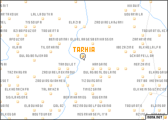 map of Tarhia