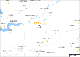 map of Tar Hill