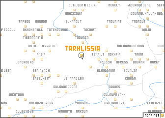map of Tarhlissia