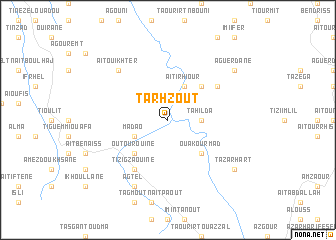 map of Tarhzout