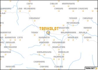 map of Tarikolot