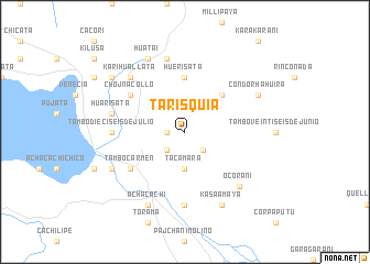 map of Tarisquia