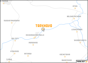 map of Tarkhovo
