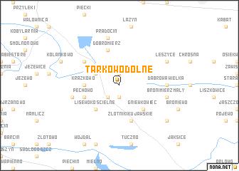 map of Tarkowo Dolne