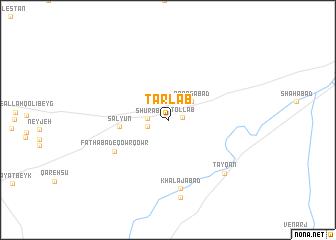 map of Ţarlāb